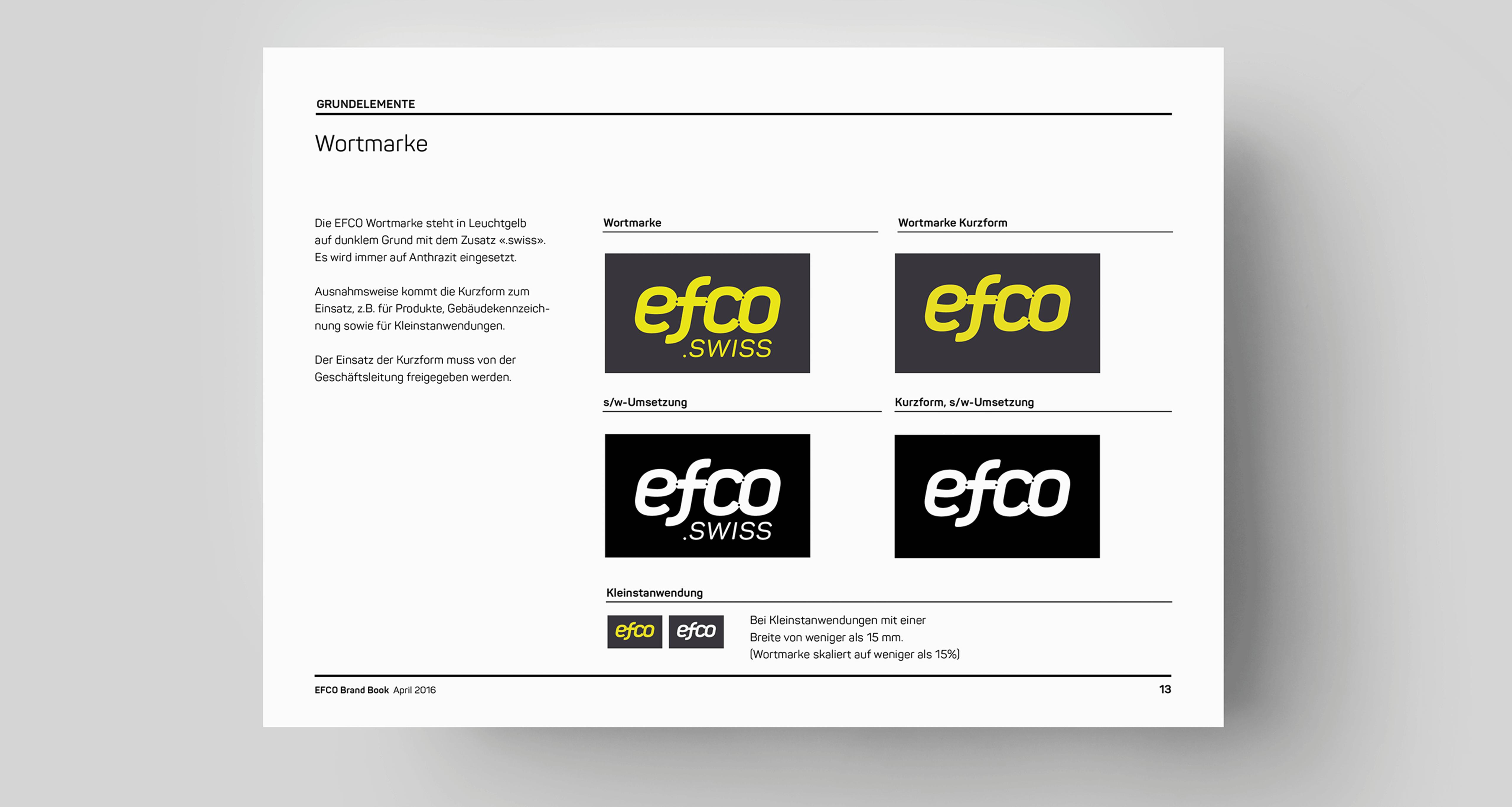 Markenzeichen EFCO