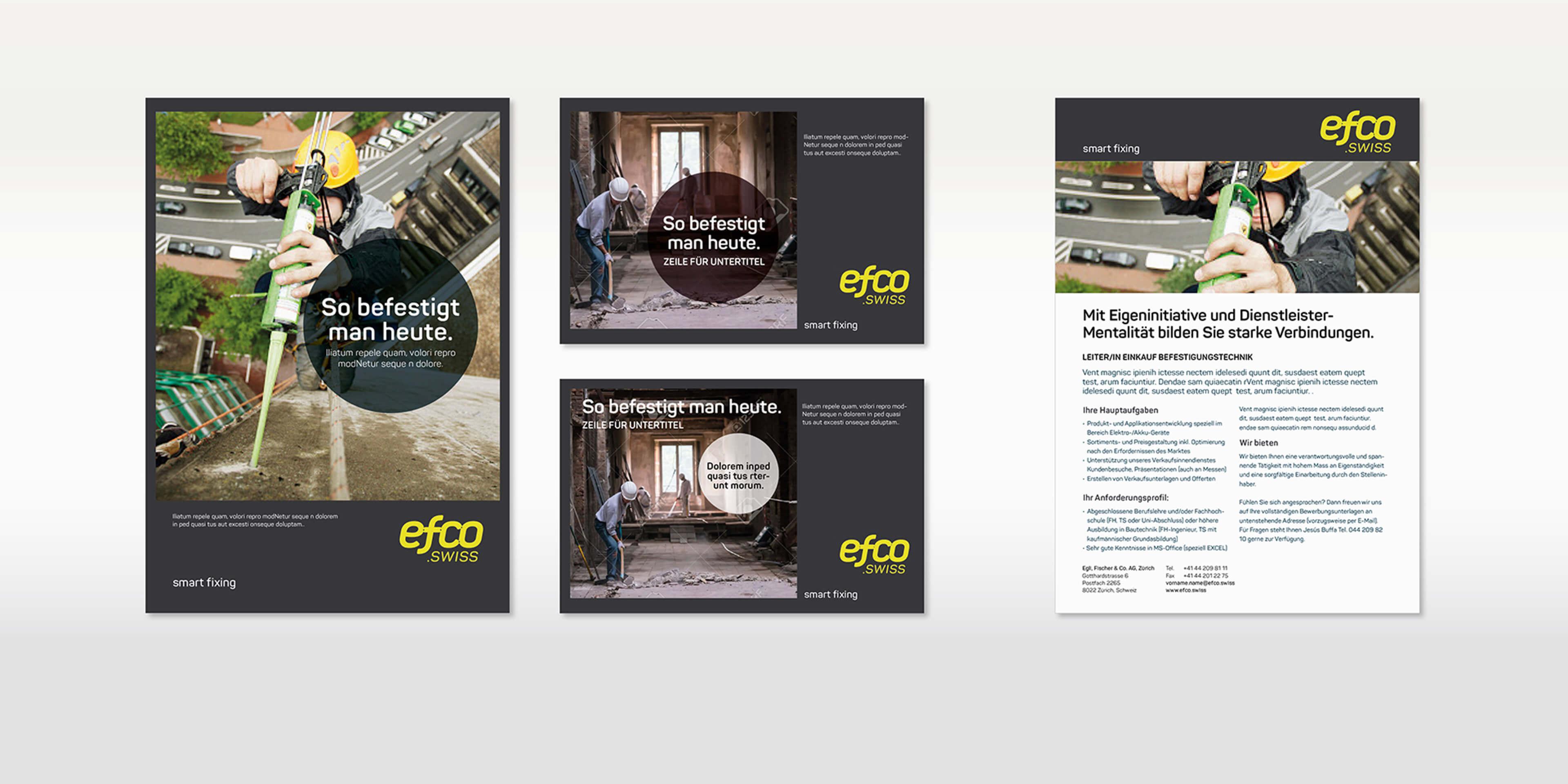 Unternehmenskommunikation für EFCO