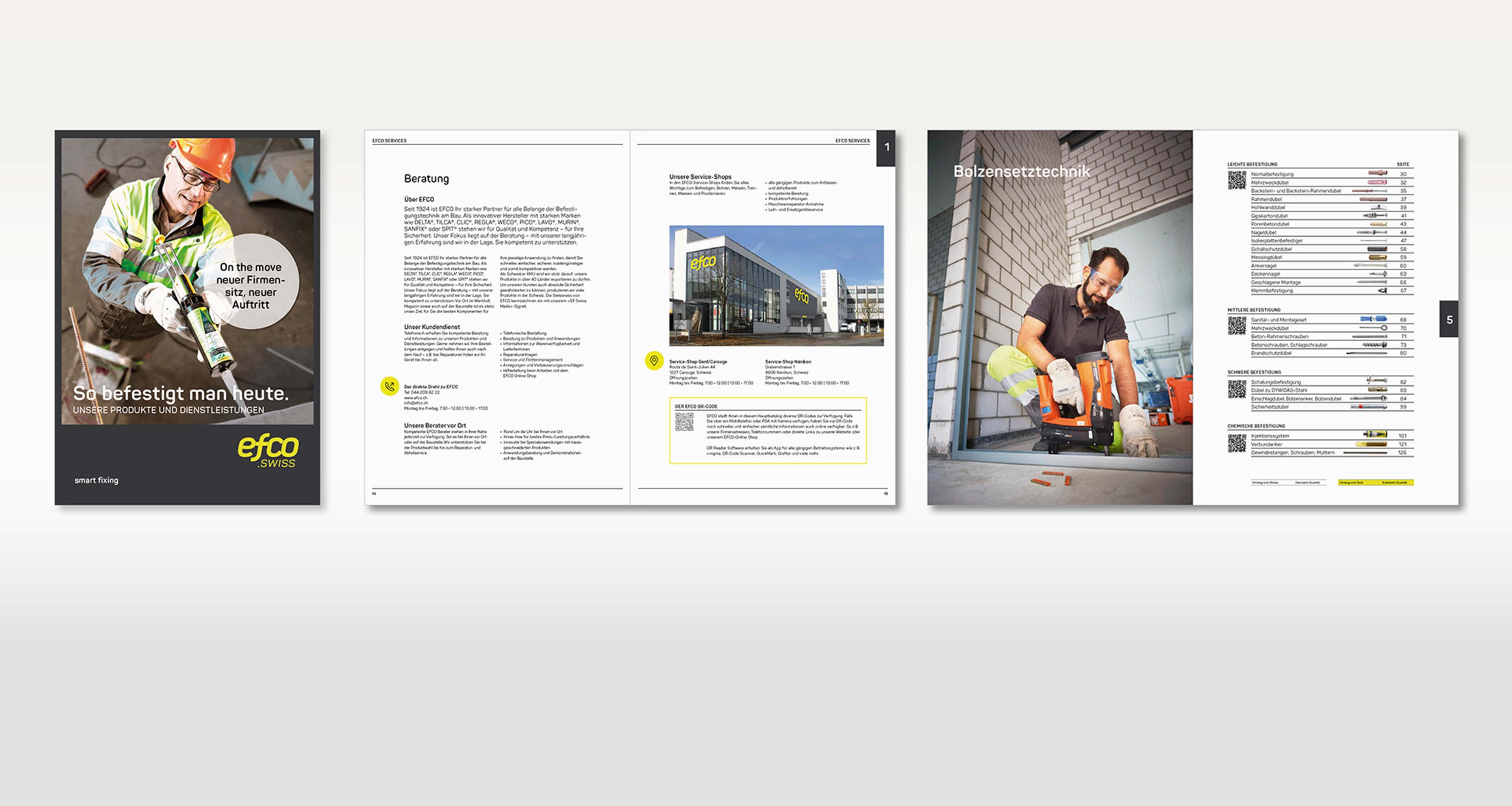 Re-Design Produktkatalog, Übersicht