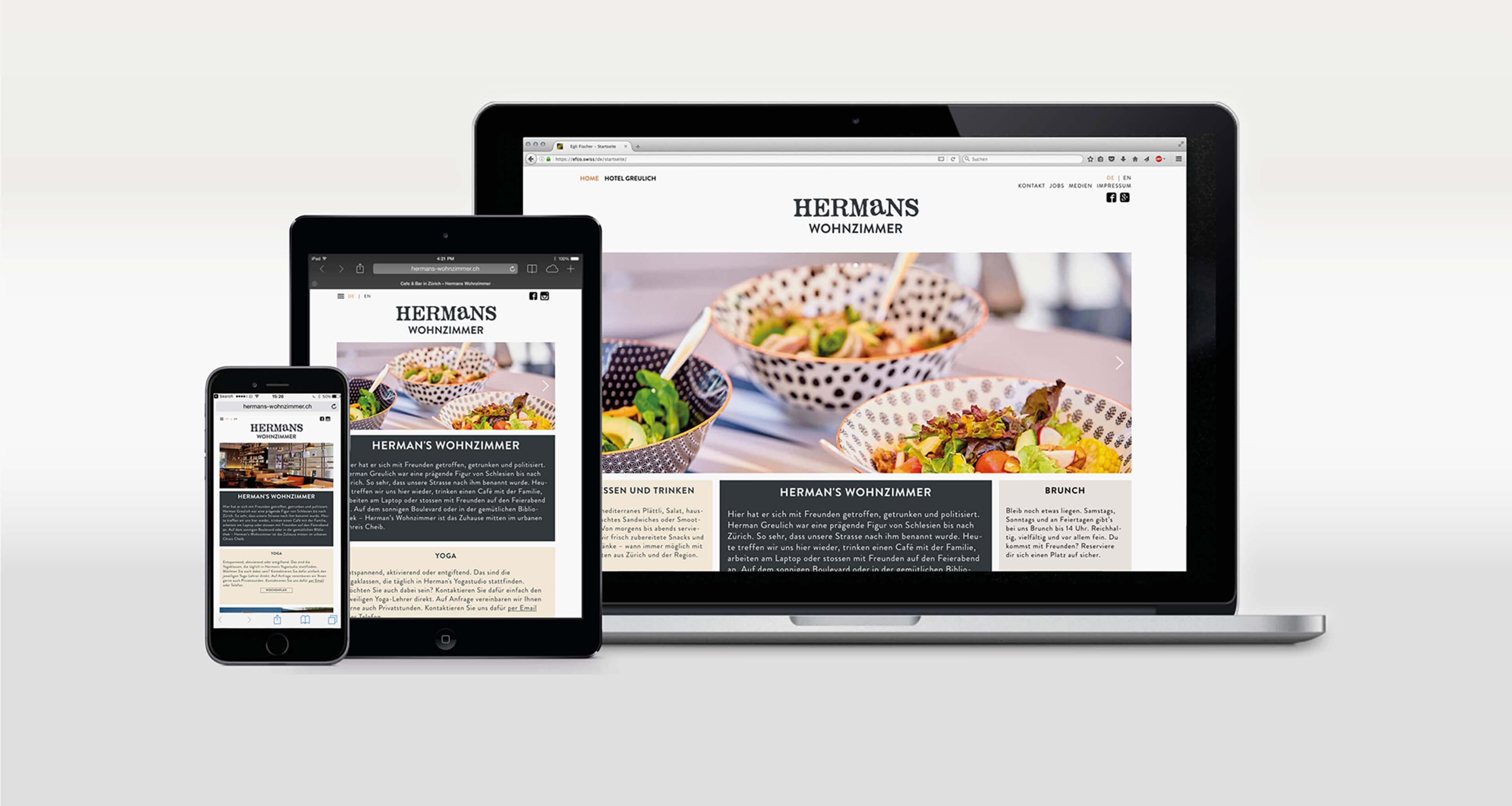 Website Hermans Wohnzimmer