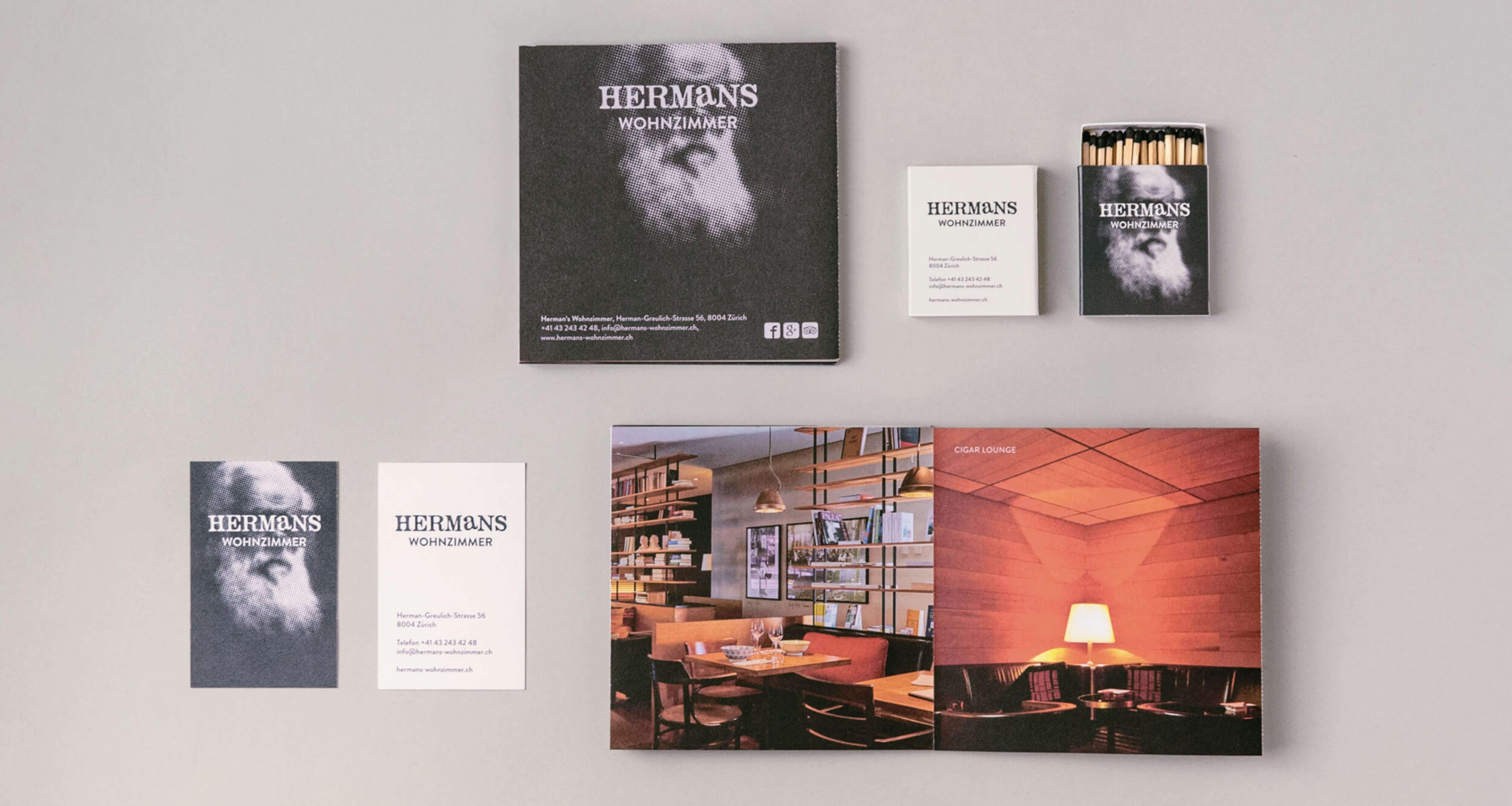 Ausstattung Hermans Wohnzimmer