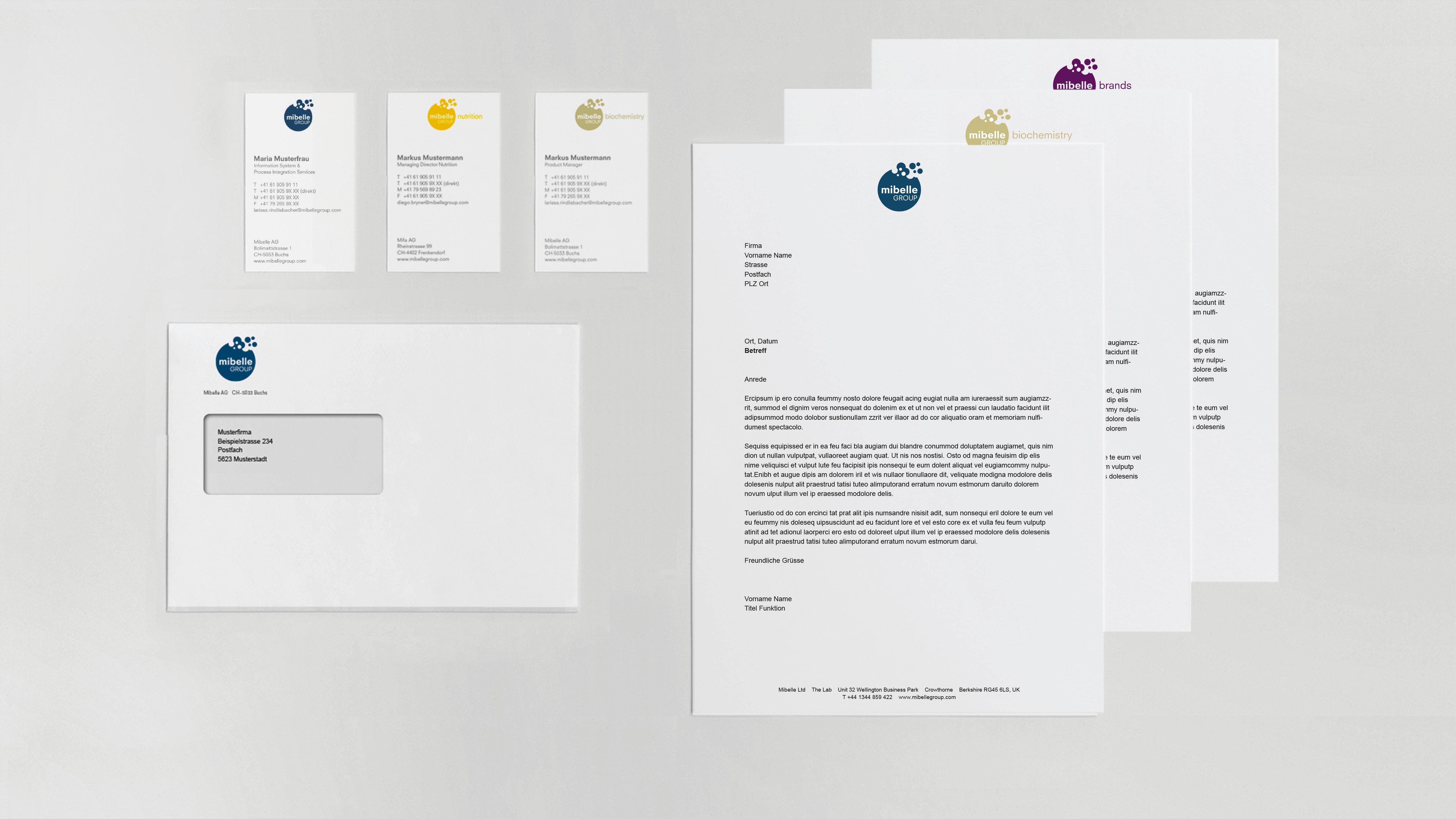 Briefschaften Übersicht