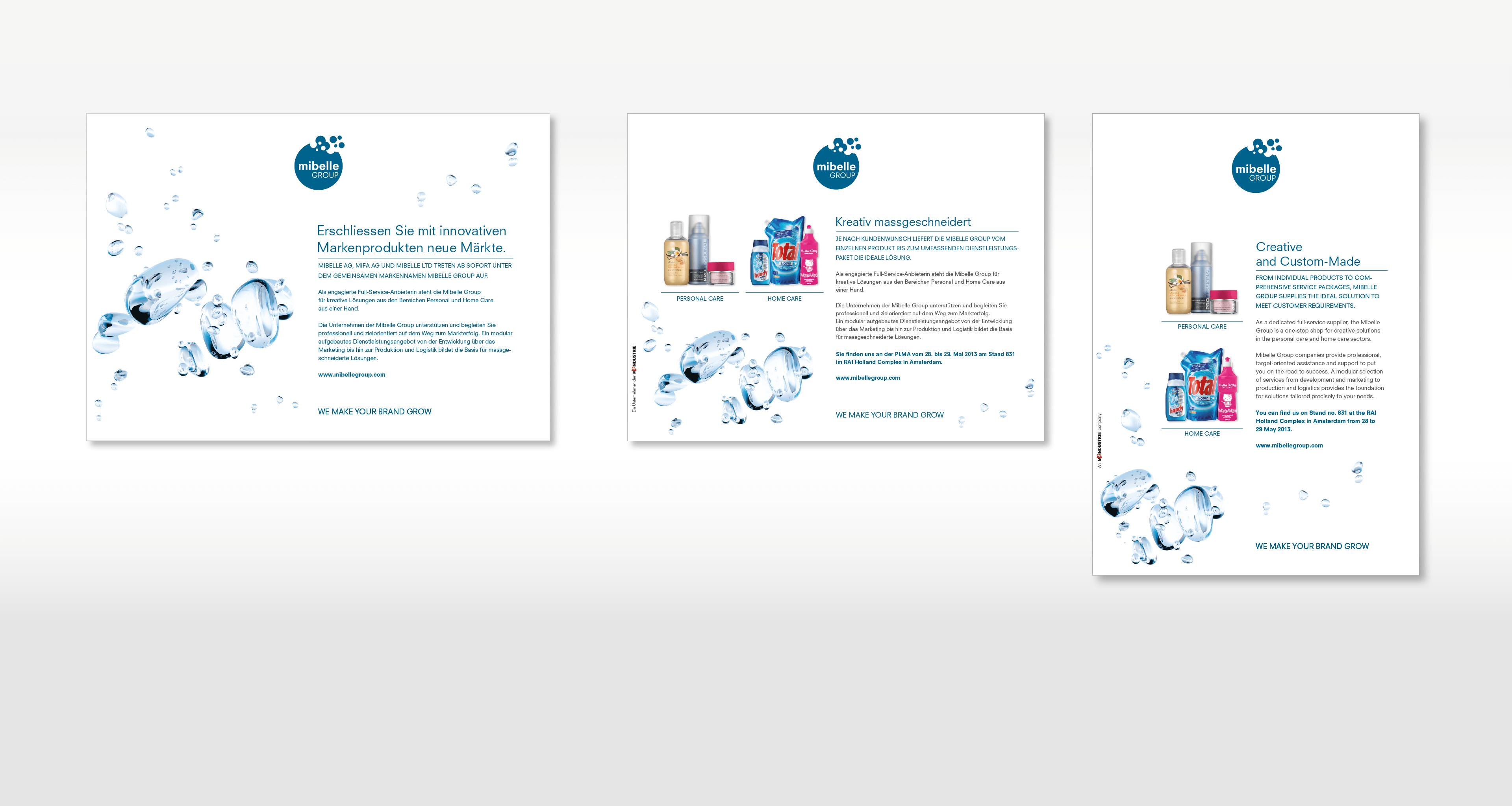 Inserate Image- und Produktkommunikation